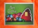 1 g gold gift bar motif: Merry Christmas