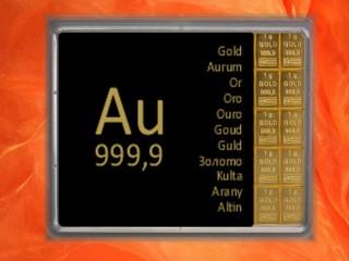 10 Gramm Gold Geschenkbarren Au international