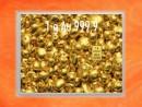 1 g gold gift bar flip motif: gold granules