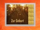 10 g gold gift bar flip motif: childbirth