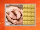 20 Gramm Gold Geschenkbarren Flipmotiv: Zur Geburt