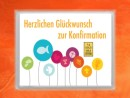 1 Gramm Gold Geschenkbarren Flipmotiv: Zur Konfirmation...