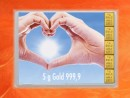 5 g gold gift bar flip motif: golden future