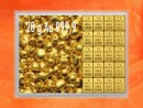 20 g gold gift bar flip motif: gold granules