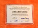 1 g Platinum gift bar flip motif: bar/ingot