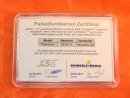 1 Gramm Palladium Geschenkbarren Flipmotiv: Barren