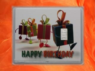 Geburtstag - Happy birthday Geschenke