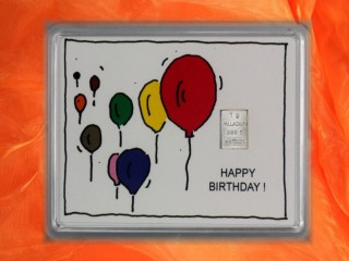 Geburtstag - Happy birthday Ballons